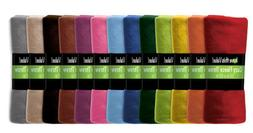 12 Pack Wholesale Warm Soft Fleece Blanket or Throw Blanket
