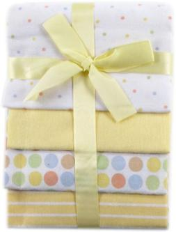 4 Pack Baby Blankets Lot Fleece Soft Cotton Bedding Flannel
