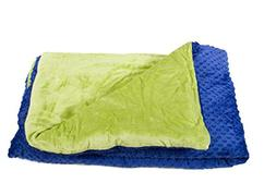 5lb Weighted Blanket for Autism & Anxiety - Comfortably Weig