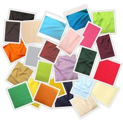 40 COLORS SOLID ANTI-PILL POLAR FLEECE NO SEW TIE  BLANKETS