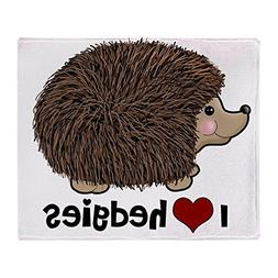 "CafePress - Hearthedgies - Soft Fleece Throw Blanket, 50""x60"