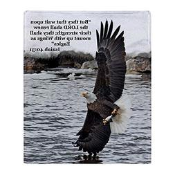 CafePress - Wide Winged Wonder - Soft Fleece Throw Blanket,
