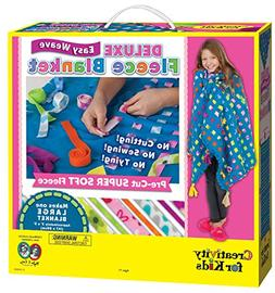 Creativity for Kids Deluxe Easy Weave Fleece Blanket Making
