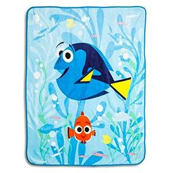 "Disney Finding Dory Plush Throw Blanket ~ 50 "" x 60"""