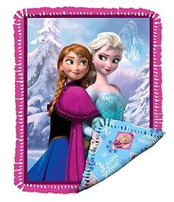 Disney's Frozen NoSew Sisterly Love Fleece Blanket Kit