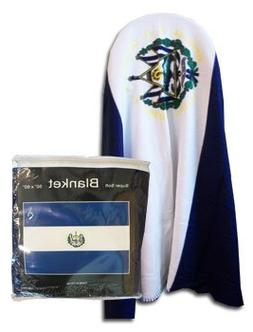 "El Salvador - 50"" x 60"" Polar Fleece Blanket"