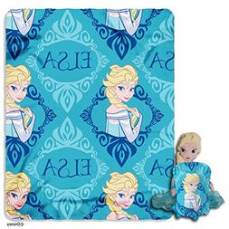 "Disney's Frozen, ""Elsa"" Character Pillow and Fleece Throw Bl"