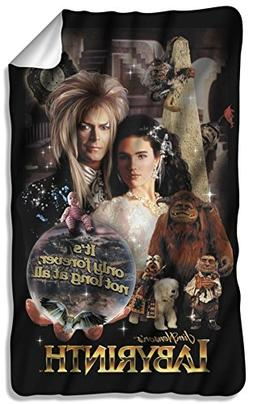 Labyrinth, Only Forever, Fleece Throw Blanket