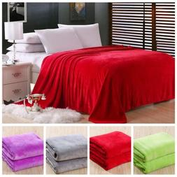 New Super Soft King Size Luxurious Fleece Throw Blanket 3 So