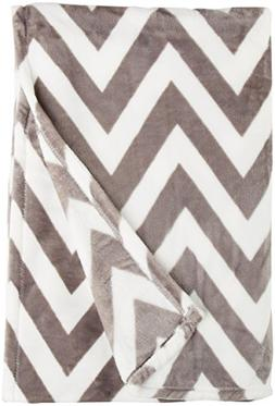 Northpoint Ruya Oversized Printed Velvet Plush Throw Blanket