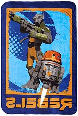 "Star Wars Rebels 62"" x 90"" Twin Blanket"