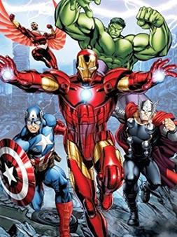 Disney Avengers Initiative Iron Man, Thor, Hulk, and Captain