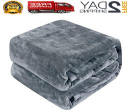 Bedsure Fleece Blanket Twin  Lightweight Blanket Super Soft