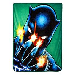 Northwest Black Panther Power of Claws Micro Raschel Throw B