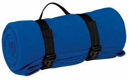 BP10 Port Authority - Value Fleece Blanket with Strap