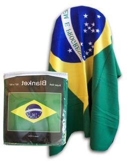 "Brazil - 50"" x 60"" Polar Fleece Blanket"