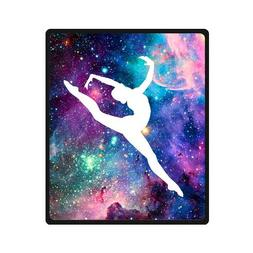 Bright Gymnastic Dancing Star Super Soft Fleece Blanket 50 i