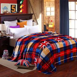 British Flag <font><b>Blanket</b></font> <font><b>Material</