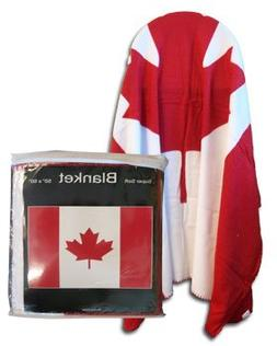 "Canada - 50"" x 60"" Polar Fleece Blanket"