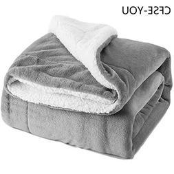CFSE-YOU Sherpa Lambskin <font><b>Blanket</b></font> Thick D