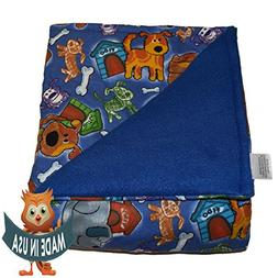 SENSORY GOODS Child Small Weighted Blanket By 7lb Heavy Pres