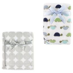 Coral Fleece & Fleece Blanket 2-Pack