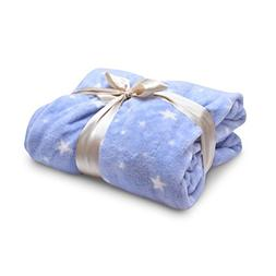 ecHome Coral Fleece Blanket Cosy Soft Warm Home Sofa Bed Whi