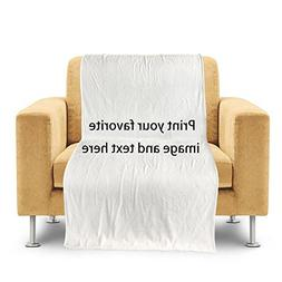 customize home throw blanket