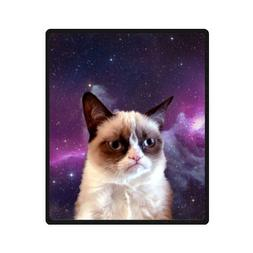 "Honey Day House Grumpy Cat Soft High Quality Blanket 50""x60"""