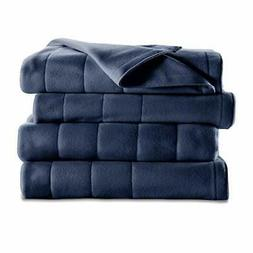 ELECTRIC HEATED BLANKET Full Size Quilted Fleece Warming Bed
