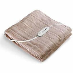 MaxKare Large Electric Heated Blanket Full Size with Adjusta