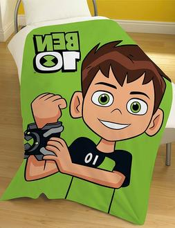 EXTRA LARGE - Official BEN 10 Super Soft Fleece Blanket Boys