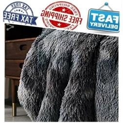 Bedsure Faux Fur Reversible Sherpa Super Soft Fuzzy Fleece B