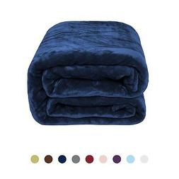 Flannel Fleece Luxury Blanket - Lightweight Cozy Plush Blank