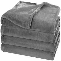 Utopia Bedding Flannel Fleece Blanket  - Extra Soft Brushed