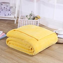 Flannel Throw Blankets ,Micro Plush Soft Flannel Fleece Thro