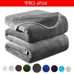 Dream Fly Life Fleece Blanket 380 GSM Anti-static Super Soft
