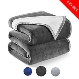 Dream Fly Life Fleece Blanket 460 GSM Anti-static Double-sid