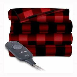 fleece heated throw blanket soft and cozy