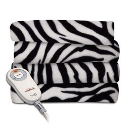 electric heated fleece blanket quilted throw blankets
