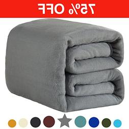 Fleece King Blanket 330 GSM Super Soft Warm Extra Silky Ligh