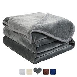 MAEVIS Luxury Fleece Blanket Super Soft Cozy Lightweight Plu