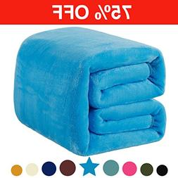 Fleece Queen Blanket 330 GSM Super Soft Warm Extra Silky Lig