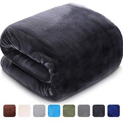LEISURE TOWN Soft Blanket Queen Size All Season Fleece Blank