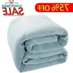 Shilucheng Luxury Fleece Blanket Super Soft and Warm Fuzzy P