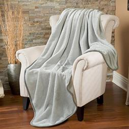 Fleece Throw Blanket 330 GSM Super Soft Warm Extra Silky Lig