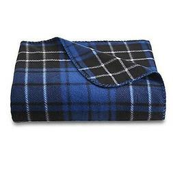 Essential Home Fleece Throw Blanket, 50-inch by 60-inch