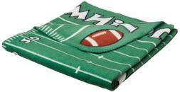 DII Game Day Printed Touchdown Football Field Fleece Blanket