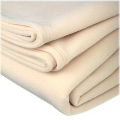 1 polar fleece new vellux blanket super