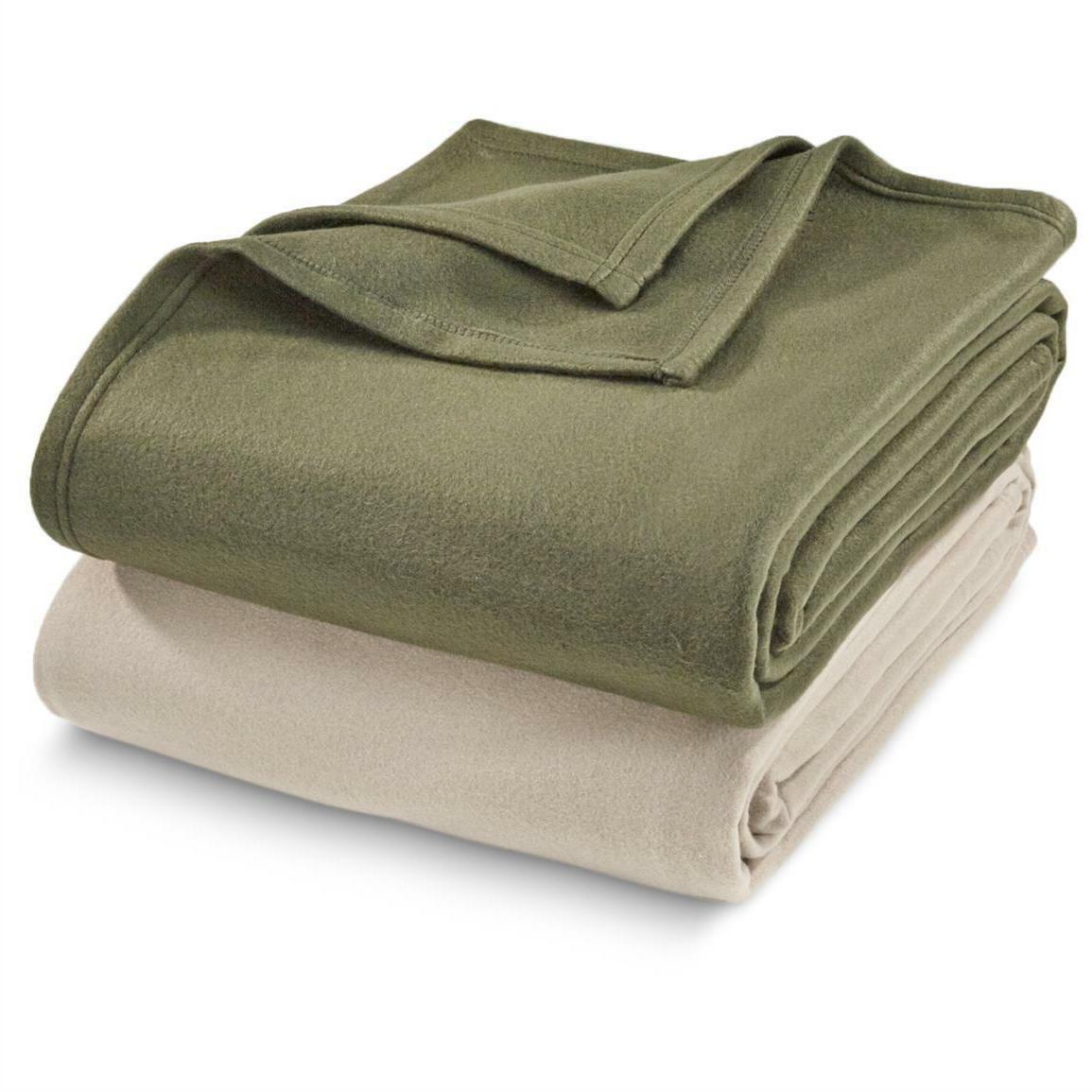 200 GSM Fleece Heavy Thick Large Blanket for Couch Car, Size